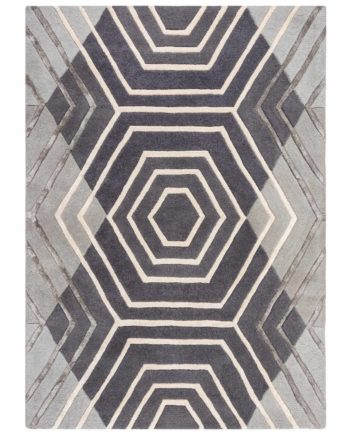Andessi Alfombras Architect Harlow Grey 4